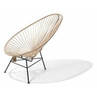 Acapulco Lounge Chair Black/Hemp