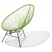 Acapulco Lounge Chair Black/Olive Green