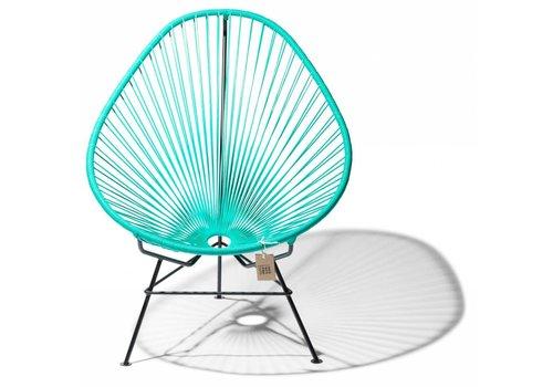 Silla Acapulco Acapulco Lounge Chair Black/Turquoise
