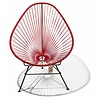 Silla Acapulco Acapulco Lounge Chair Black/Red