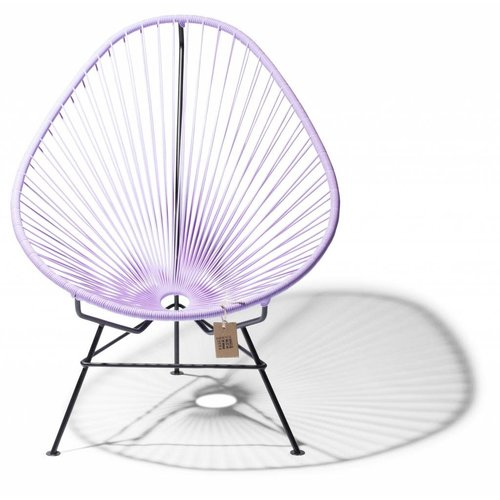 Acapulco Lounge Chair Black/Lilac