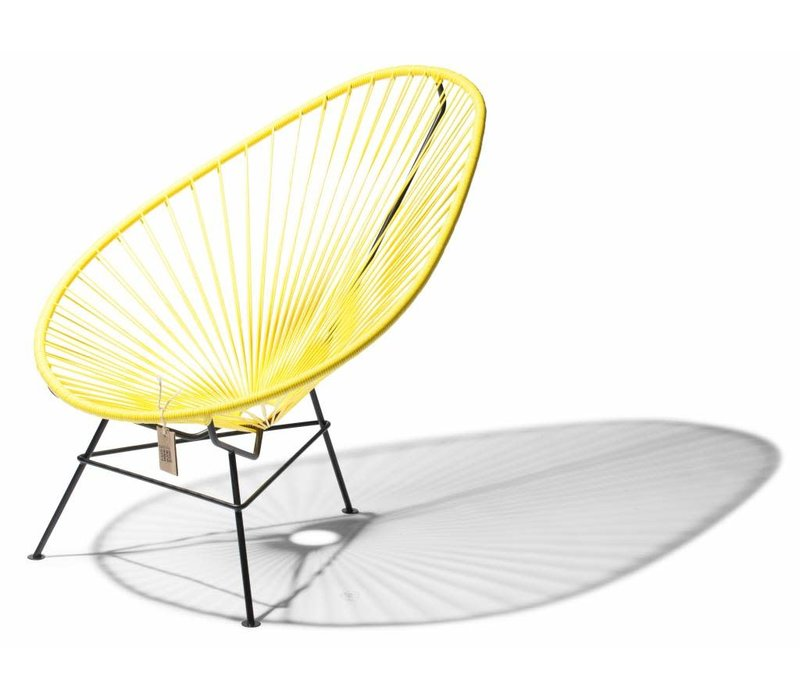 Acapulco Lounge Chair Black/Canary Yellow