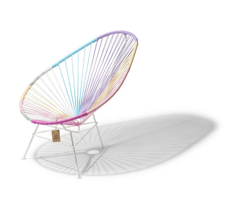 Acapulco Lounge Chair Multi Colour White/Unicorn