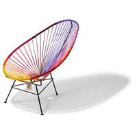 Acapulco Lounge Chair Multi Colour Black/Sunset