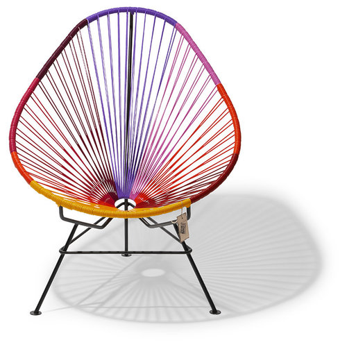 Acapulco Lounge Chair Multi Colour Black/Sunset