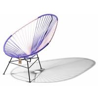 Acapulco Lounge Chair Multi Colour Black/Purple/Pink