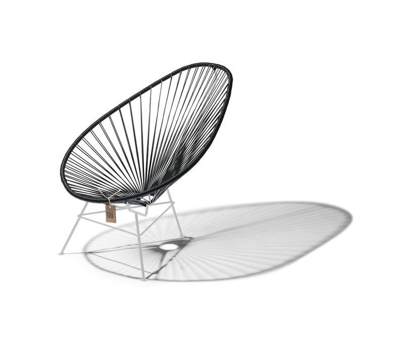Acapulco Lounge Chair White/Black