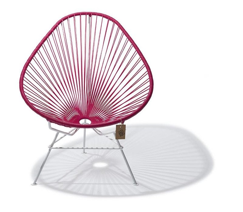 Copy of Acapulco Lounge Chair White/Gold