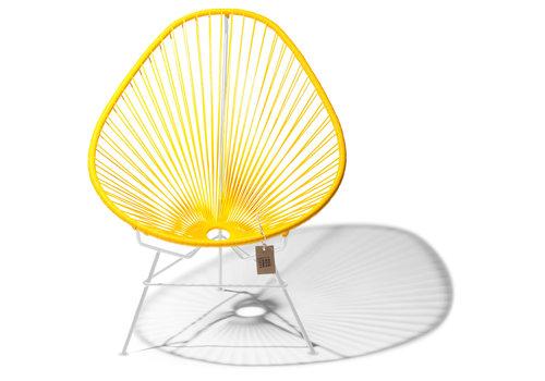 Silla Acapulco Acapulco Lounge Chair White/Yellow