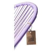Acapulco Lounge Chair White/Lilac