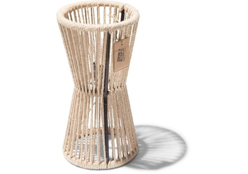 Silla Acapulco Totem Table Lamp Black/Hemp Rope
