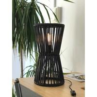 Totem Table Lamp Black/Black