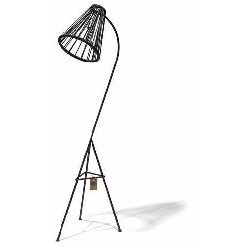 Kahlo Floor Lamp Black/Black
