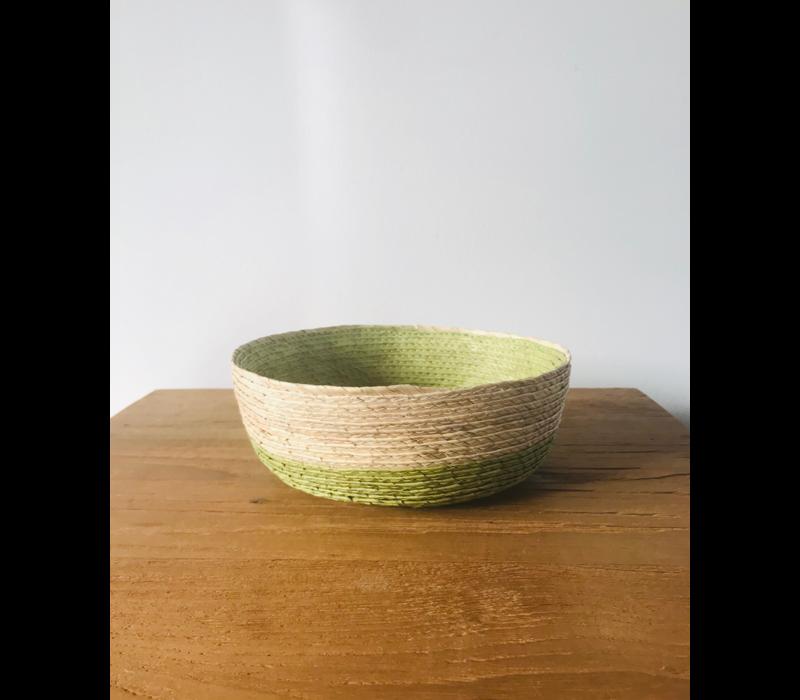 Palm Leaf Basket dia15cm