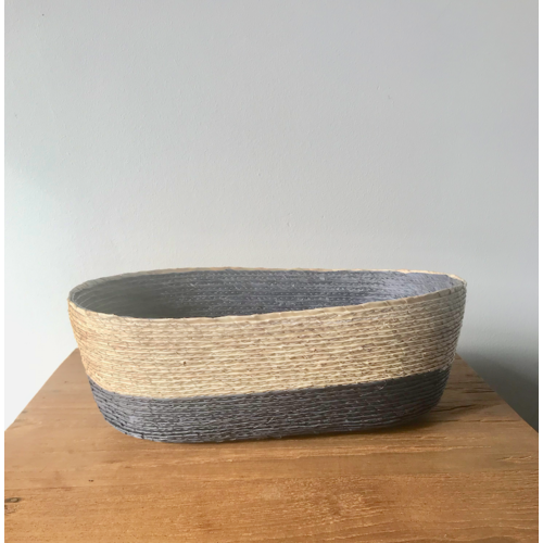 Palm Leaf Basket Oval Medium