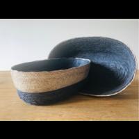 Palm Leaf Basket Oval Medium