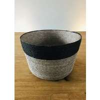Palm Leaf Basket Tall dia25cm