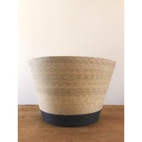 Palm Leaf Basket Tall Floor