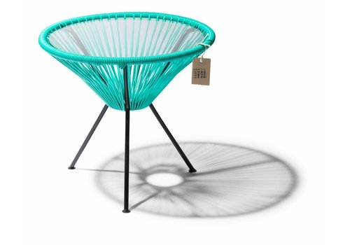 Silla Acapulco Side Table Japon Small Black/Turquoise