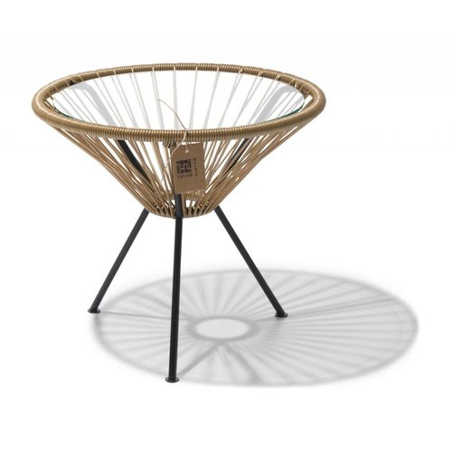 Side Table Japon Small Black/Gold