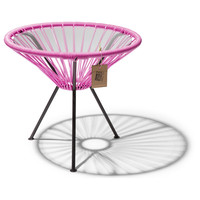 Side Table Japon Small Black/Fuschia