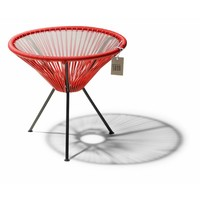 Side Table Japon Small Black/Red