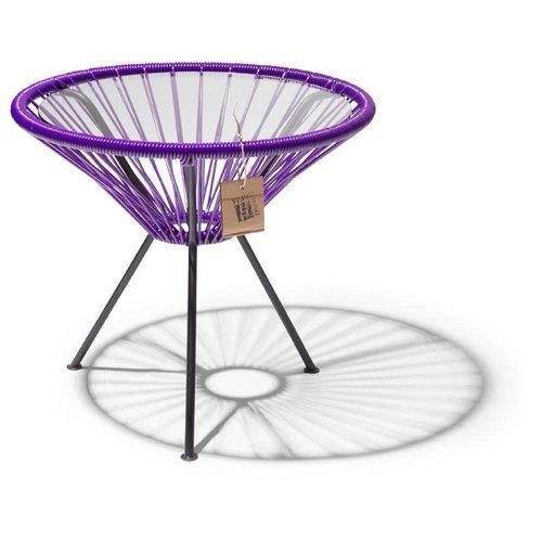 Side Table Japon Small Black/Purple