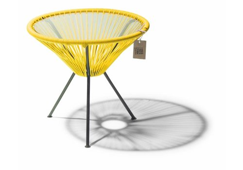 Silla Acapulco Side Table Japon Small Black/Yellow