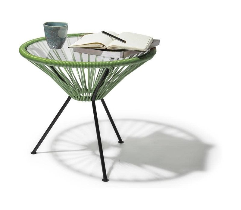 Side Table Japon Small Black/Olive Green