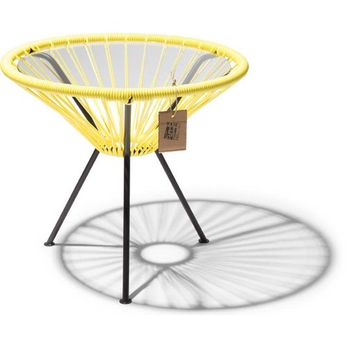 Side Table Japon Small Black/Canary Yellow