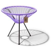 Side Table Japon Small Black/Lilac
