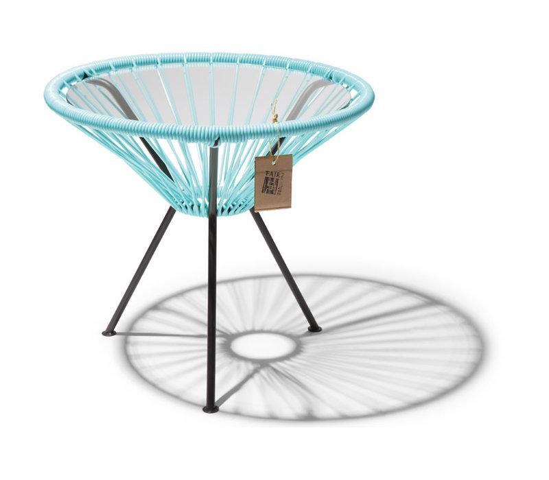Side Table Japon Small Black/Pastel Blue