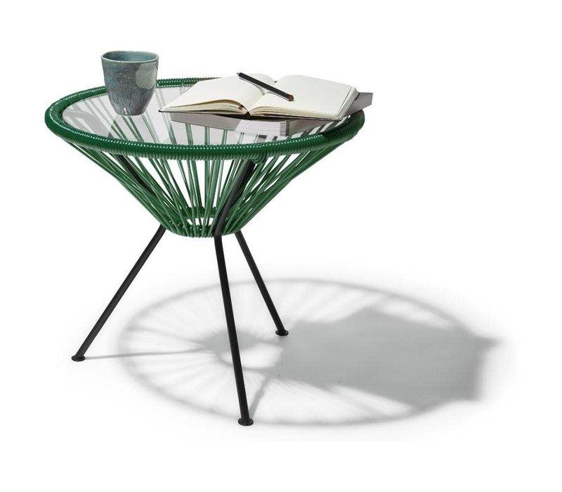 Side Table Japon Small Black/Dark Green