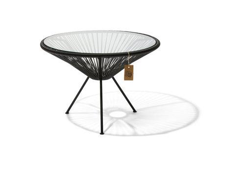 Silla Acapulco Side Table Japon XL Black/Black