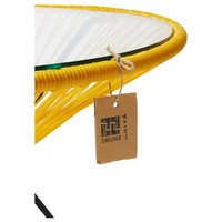 Side Table Japon XL Black/Yellow