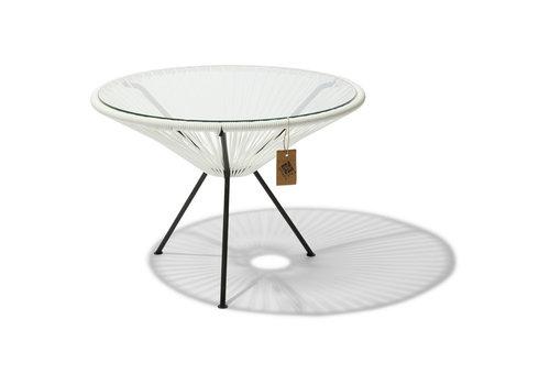 Silla Acapulco Side Table Japon XL Black/White