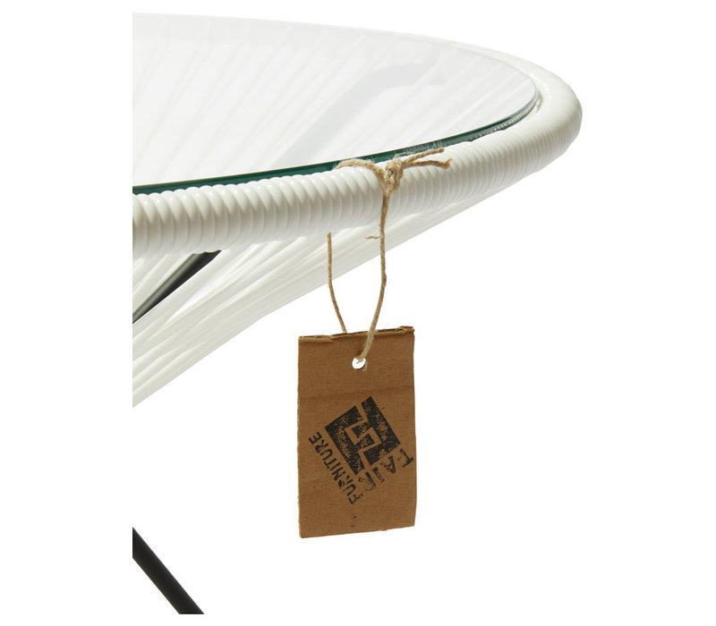 Side Table Japon XL Black/White