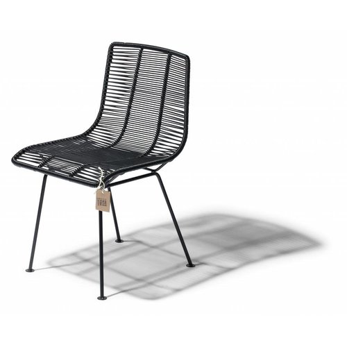 Rosarito Dining Chair Black/Black