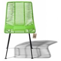 Rosarito Dining Chair Black/Apple Green