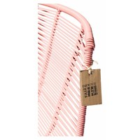 Rosarito Dining Chair Black/Salmon Pink