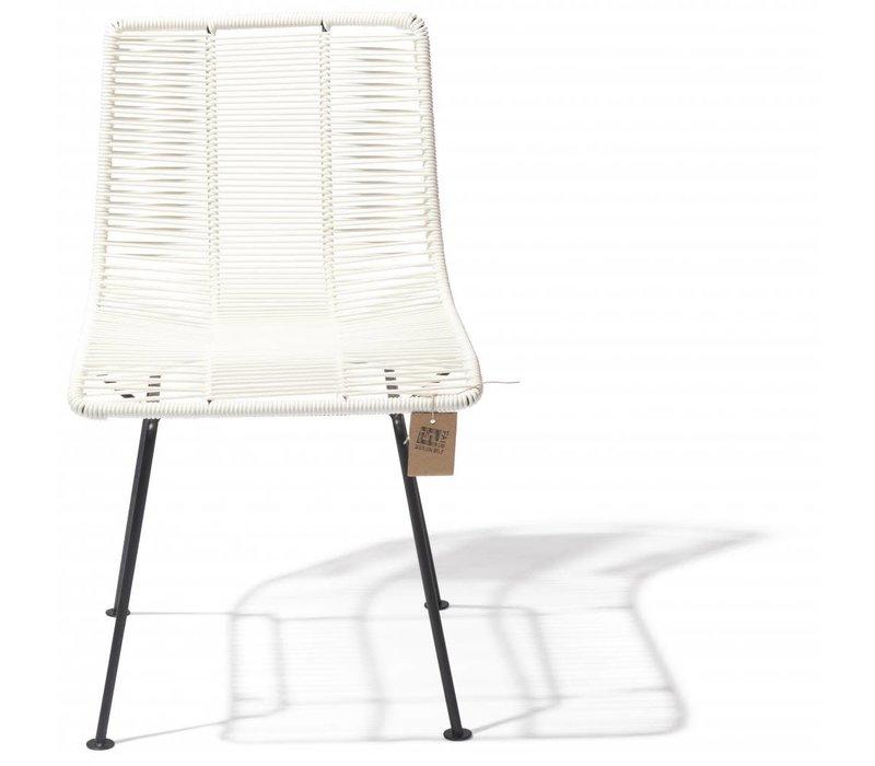 Rosarito Dining Chair Black/White