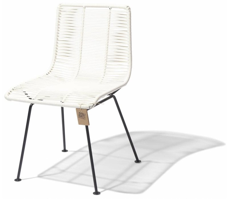 Rosarito Dining Chair Black/White