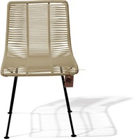 Rosarito Dining Chair Black/Beige