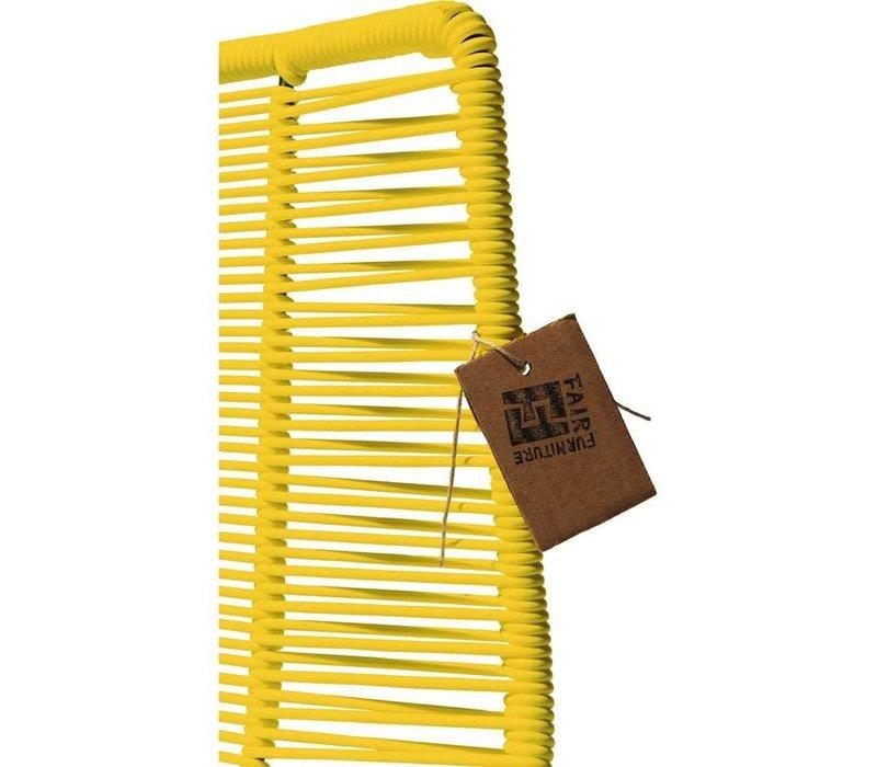 Rosarito Dining Chair Black/Yellow