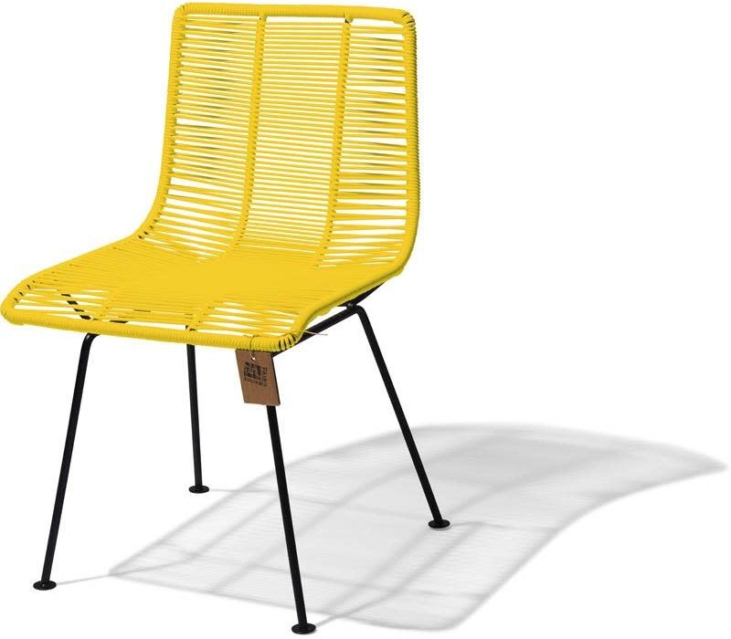 Rosarito Dining Chair Black/Yellow