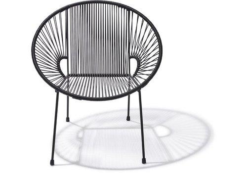 Silla Acapulco Luna Chair Black/Black