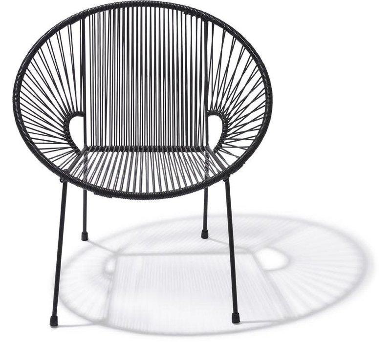 Luna Chair Black/Black