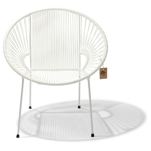 Luna Chair White/White
