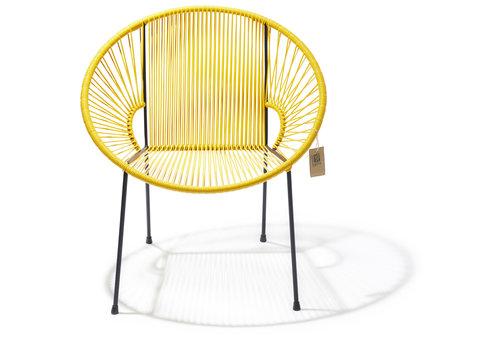 Silla Acapulco Luna Chair Black/Yellow