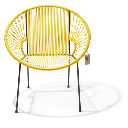 Luna Chair Black/Yellow